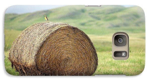 Meadowlark Heaven Galaxy S7 Case by Todd Klassy