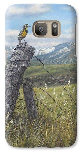 Meadowlark Serenade Galaxy S7 Case