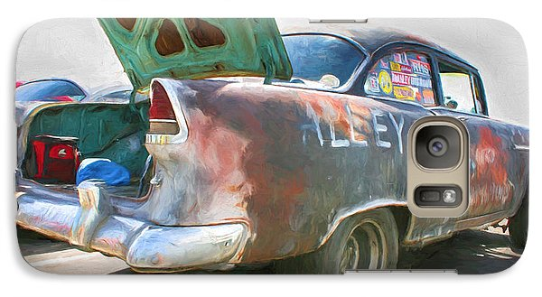 Galaxy Case featuring the painting Mean Streets by Michael Cleere