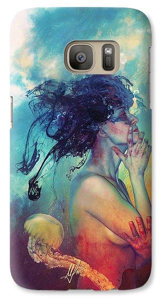 Magician Galaxy S7 Case - Medea by Mario Sanchez Nevado
