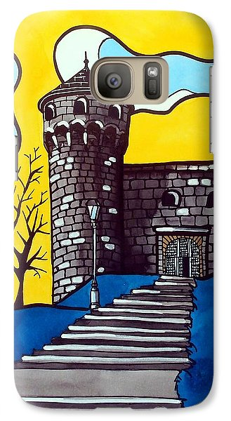 Galaxy Case featuring the painting Medieval Bastion -  Mace Tower Of Buda Castle Hungary By Dora Hathazi Mendes by Dora Hathazi Mendes