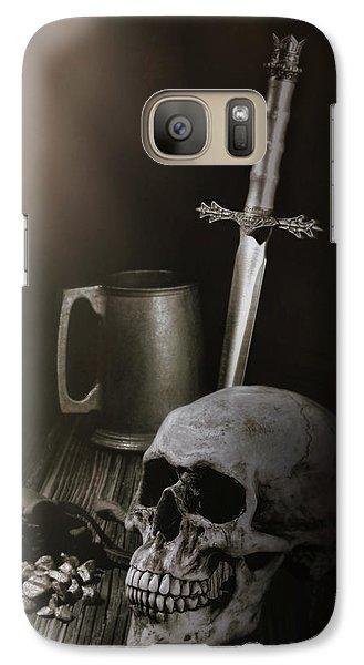 Knight Galaxy S7 Case - Medieval Still Life by Tom Mc Nemar