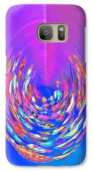 Galaxy Case featuring the photograph Meditation In Blue by Nareeta Martin
