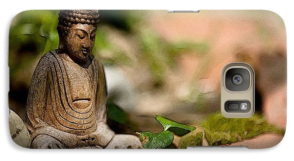 Galaxy Case featuring the photograph Meditation by Jean Bernard Roussilhe