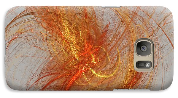 Medusa Bad Hair Day - Fractal Galaxy S7 Case