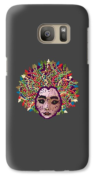 Galaxy Case featuring the digital art Medusa With Transparent Background by R  Allen Swezey
