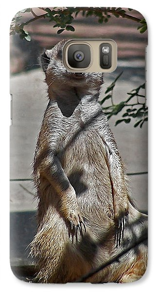 Meerkat 2 Galaxy S7 Case by Ernie Echols
