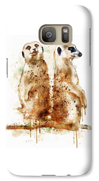 Meerkats Galaxy Case by Marian Voicu