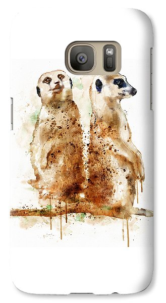 Meerkats Galaxy S7 Case by Marian Voicu
