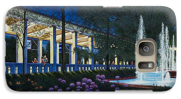 Galaxy Case featuring the painting Meet Me At The Muny by Michael Frank