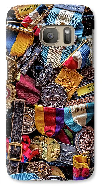 Galaxy Case featuring the photograph Meet Medals by Christopher Holmes