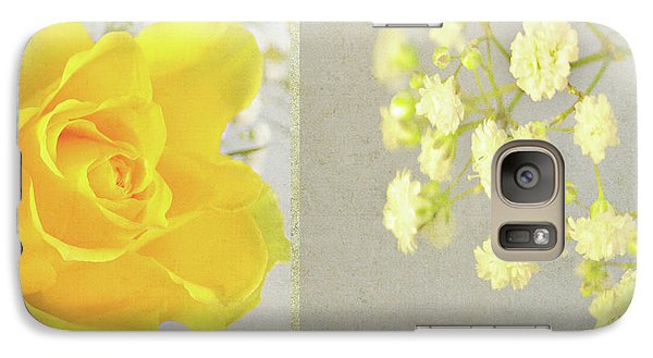 Galaxy Case featuring the photograph Mellow Yellow by Lyn Randle