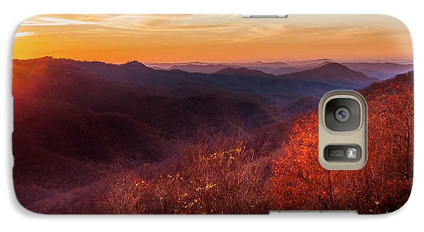 Galaxy Case featuring the photograph Melody Of Autumn by Karen Wiles