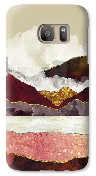 Landscapes Galaxy S7 Case - Melon Mountains by Katherine Smit