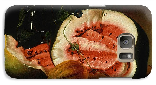 Melons And Morning Glories  Galaxy S7 Case by Raphaelle Peale