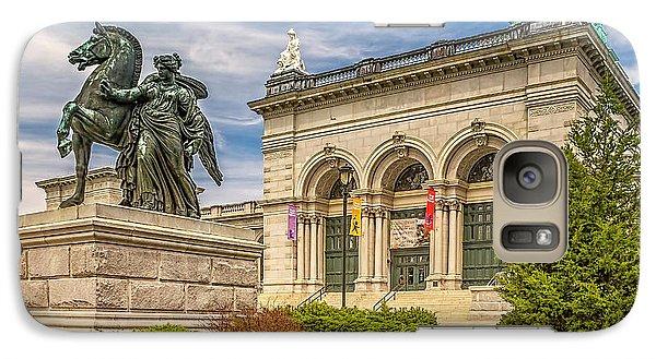 Galaxy Case featuring the photograph Memorial Hall - Fairmount Park by Nick Zelinsky