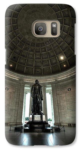 Memorial To Thomas Jefferson Galaxy S7 Case by Andrew Soundarajan