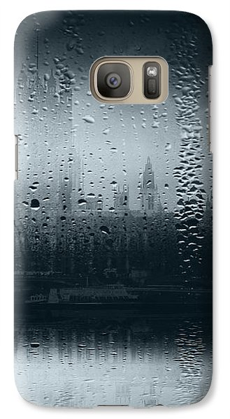 Galaxy Case featuring the digital art Mystical London by Fine Art By Andrew David