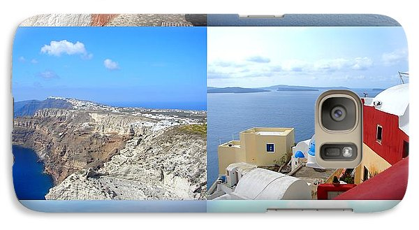 Galaxy Case featuring the photograph Memories From Santorini by Ana Maria Edulescu