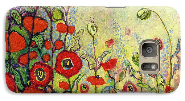 Impressionism Galaxy S7 Case - Memories Of Grandmother's Garden by Jennifer Lommers
