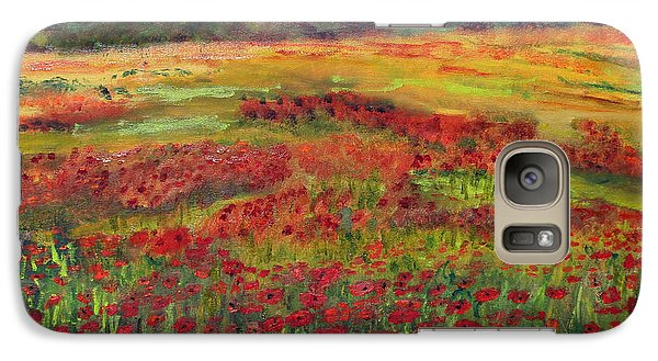 Galaxy Case featuring the painting Memories Of Provence by Michael Helfen