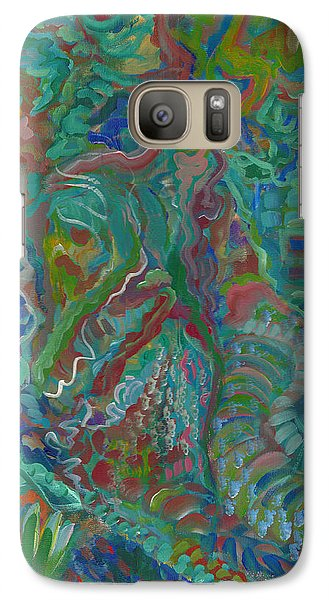 Galaxy Case featuring the painting Memories Of The Wild by John Keaton