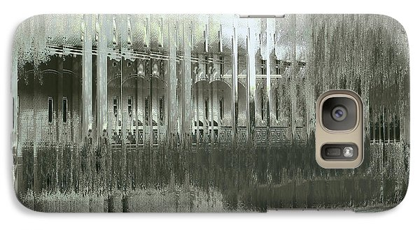 Galaxy Case featuring the digital art Memory Palace - Fading by Wendy J St Christopher
