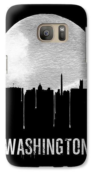 Memphis Skyline Black Galaxy S7 Case