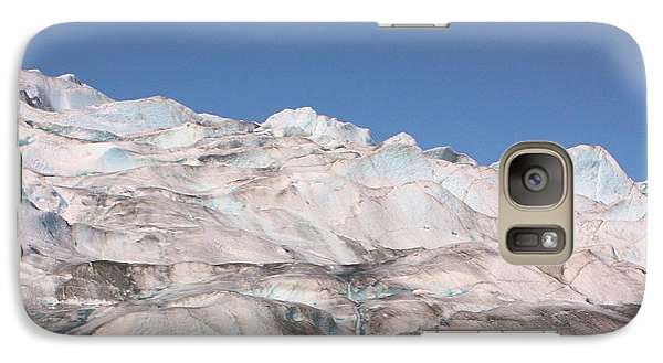 Galaxy Case featuring the photograph Mendenhall Glacier Panoramic by Kristin Elmquist