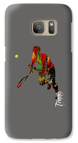Mens Tennis Collection Galaxy Case by Marvin Blaine