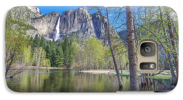 Galaxy Case featuring the photograph Merced River In Spring by Scott McGuire