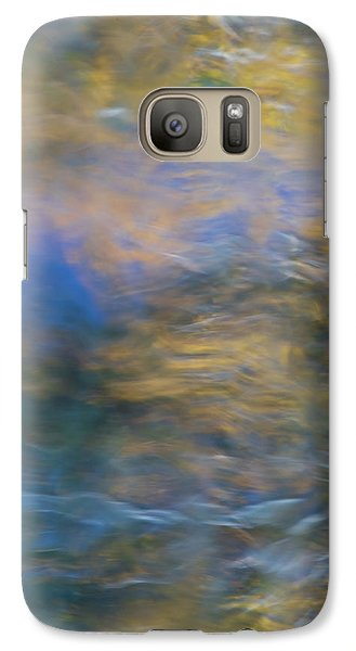 Yosemite National Park Galaxy S7 Case - Merced River Reflections 18 by Larry Marshall