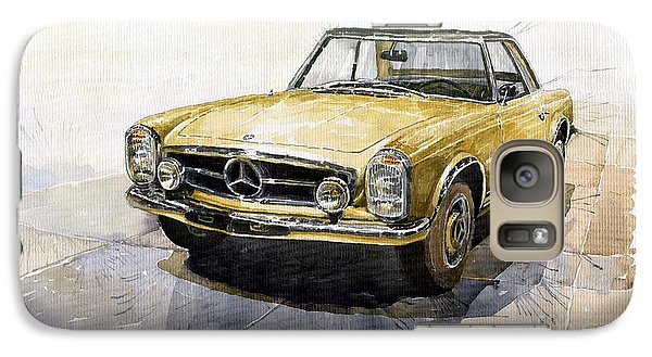 Mercedes Benz W113 Pagoda Galaxy S7 Case by Yuriy  Shevchuk