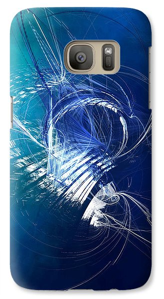 Mercury In Cancer - Cardinal Water Galaxy S7 Case