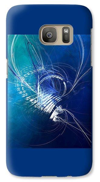 Mercury In Cancer - Cardinal Water Galaxy S7 Case