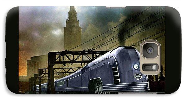Galaxy Case featuring the photograph Mercury Train by Steven Agius