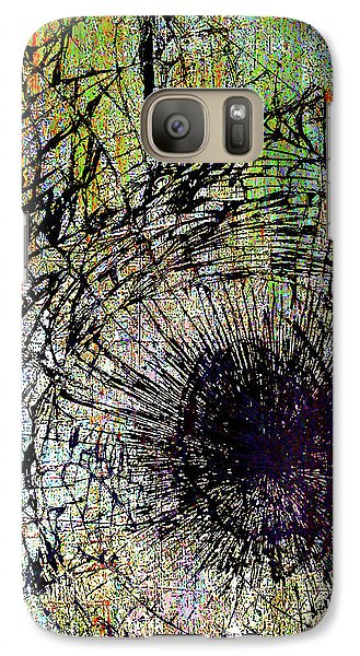 Galaxy Case featuring the mixed media Mercy by Tony Rubino