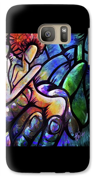 Galaxy Case featuring the digital art Mercy's Hand by AC Williams