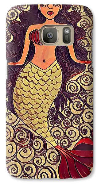 Galaxy S7 Case - Mermaid Dreams by K Daniel