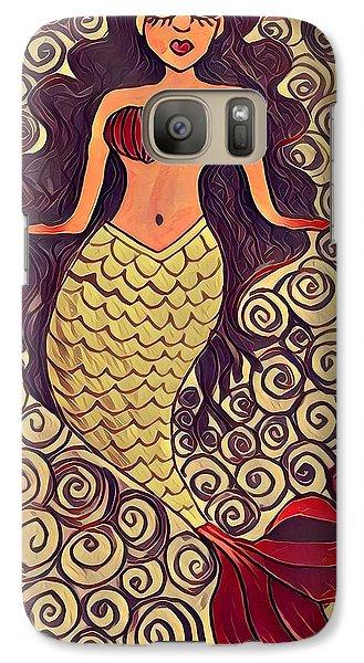 Mermaid Dreams Galaxy S7 Case