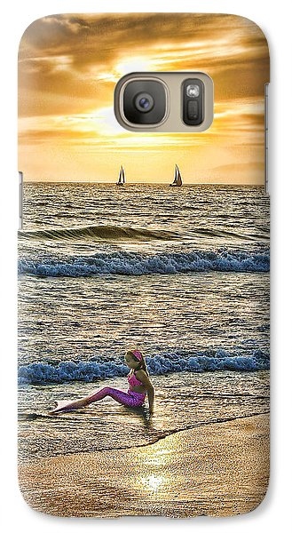 Galaxy Case featuring the photograph Mermaid Of Venice by Michael Cleere