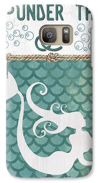Fairy Galaxy S7 Case - Mermaid Waves 2 by Debbie DeWitt
