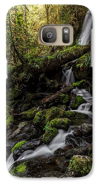 Galaxy Case featuring the photograph Merriman Falls by David Stine