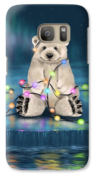 Galaxy Case featuring the painting Merry Christmas  by Veronica Minozzi