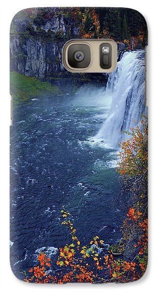 Mesa Falls In The Fall Galaxy S7 Case