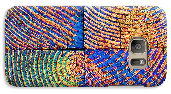 Galaxy Case featuring the photograph  Rainbow Powerwood by John King