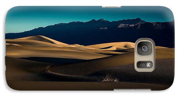 Galaxy Case featuring the photograph Mesquite Dunes by Allen Biedrzycki