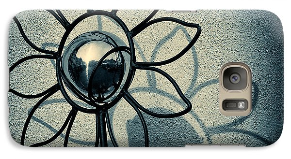 Sunflower Galaxy S7 Case - Metal Flower by Dave Bowman