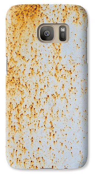 Galaxy Case featuring the photograph Metal Rust by John Williams