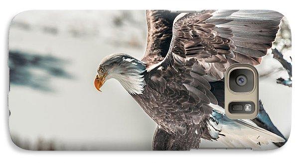 Metallic Bald Eagle  Galaxy S7 Case